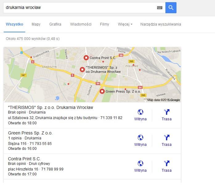 Skuteczna reklama winternecie poprzez Google Moja Firma